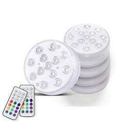 Synderay Magnet Submersible Led Lights With Suction Cups,ip68 Waterproof Hot Tub