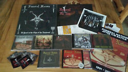 Funeral Nation- Super Fan Boxset Newvinyls Cds Poster Stickers And Signed Photo