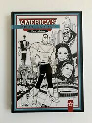AMERICA#x27;S BEST COMICS ARTIST#x27;S EDITION HC IDW HARDCOVER TOM STRONG COVER