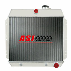 Fit 1949-1954 Chevy Bel Air Cars Coupe Sedan I6 6cyl 3 Row Aluminum Radiator