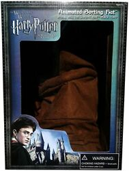 New Universal Studios Wizarding World Of Harry Potter Animated Sorting Hat