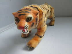 Vintage Rare Marx Bengali Tiger Remote Battery Operated Toy For Parts/repair