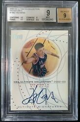 2002-03 Yao Ming Ultimate Collection Auto Autograph Bgs 9/9