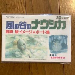 Nausicaa Of The Valley Of The Wind Post Cards And Book Ghibli Miyazaki Vintage