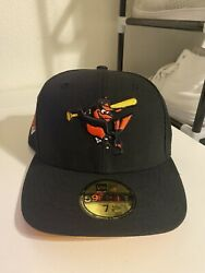 Baltimore Orioles New Era Side Patch Fitted - Size 7 1/8