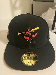 Baltimore Orioles New Era Side Patch Fitted - Size 7 1/4