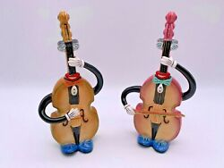 Bass Cello Salt And Pepper Shakers Apple Tree Design 2016