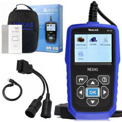 3xnexas Nl102 Heavy Duty Truck And Car Obd2 Diagnostic Code Reader Scanner T T1j3