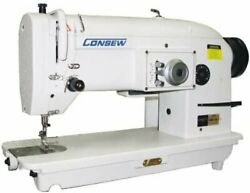 Consew 199r Single-needle, Drop-feed Stitch Type-3a W/ Table And Motor Table...