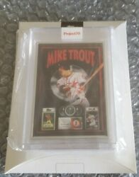 Topps Project 70 Card 410 - 2011 Mike Trout Dj Skee Artist Proof 31/51