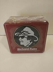 Nascar Richard Petty 7 Time Champ Winston Cup Series Collectable Tin, Nos Sealed