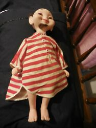 Vintage 1960 Whimsies Zack The Sack 22andrdquo Soft Vinyl American Doll And Toy Co Wow