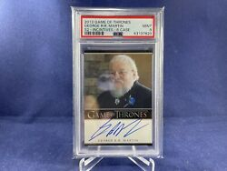 Game Of Thrones Season 2 George Rr Martin Autograph Card Psa 9 Top 100 By Psa