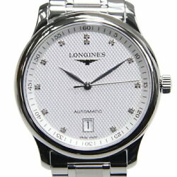 Longines Master Collection L2.628.4.77.6 12p Diamond Stainless Automatic Watch