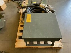 Military Power Distribution Box And Cable Generator 100 Amp Feeder System