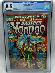 Strange Tales 169 Cgc 8.5 Marvel 1973 1st Brother Voodoo White Pages M7 383 Cm