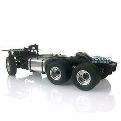 Lesu Scania 64 Metal Chassis 2speed Gearbox 1/14 Diy Tamiya Rc Tractor Truck