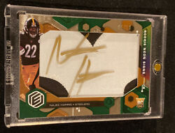 2021 Elements Najee Harris Rookie Neon Signs Jumbo Patch On-card Auto Rc 01/10