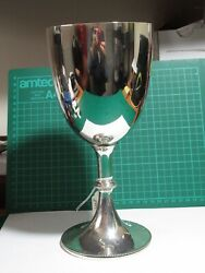 Solid Silver Very Large Goblet London 1875 Henry John Lias 515 Grams