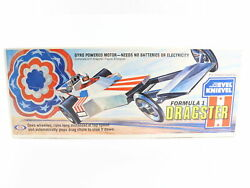 1975 Vintage Ideal Toy Evel Knievel Formula 1 Dragster Car Unopened Rare