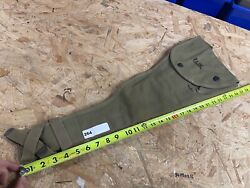 Wwii Us Army M1 Carbine Paratrooper Canvas Scabbard Jump Case 1943 Atlas Awning