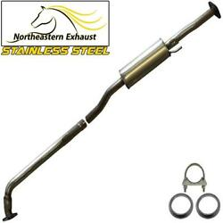 Stainless Steel Exhaust Resonator Pipe Fits 94-1996 Toyota Camry 2.2l