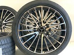 19 Wheels Rims Tires Fit Mercedes Benz C43 63 Amg Limited Edition New 4 112 Mm