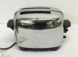 Vintage Dominion Electric 2 Slice Toaster Oven With Cover