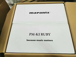 Demo Marantz Pm-ki Ruby Gold Signature Reference Integrated Amp Made In Japan