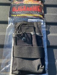 Blackhawk Tactical Tac-vest Radio Pouch -universal Fit New Same Day Shipping