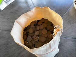 5000 Pennys All Wheat Pennies From The Twenties Thru 1958