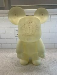 Toy2r 18 Inch Gid Glow Qee Tim Biskup Signed And Marked Up See Comment
