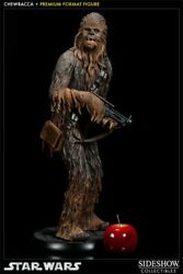Chewbaccapremium Formatandtrade Figure By Sideshow Collectibles