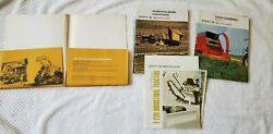 Sperry New Holland Equipment Brochure Lot Of 29