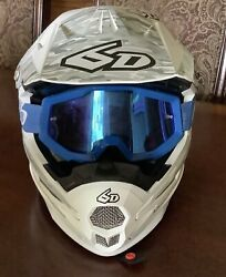 Pre Owned Racing Safety Helmet Goggles Bag Youth S