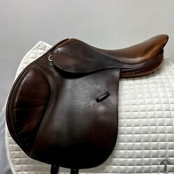 Tad Coffin 17″ Nm A5 Jumping Saddle