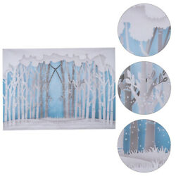 1pc Forest Wall Tapestry Hangings Tapestry Background Cloth for Home Studio