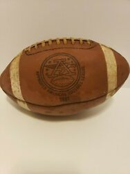 Rare Approved Official 1981 American Football League Afl Cow Hide Football