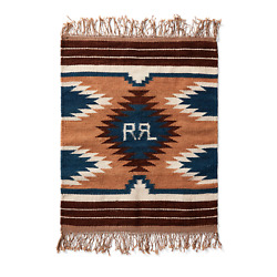 Rrl 19th Century Inspired Limited Edition Wool Cotton Mini Rug
