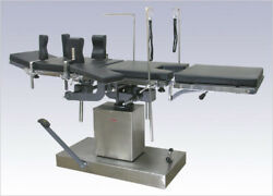 Hydraulic Operation Table 5 Section Hi-low With Trendelberg Back And Middle Raise
