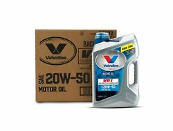 Valvoline Vr1 Racing Sae 20w-50 Motor Oil Protective Conventional 5 Qt Case Of 3