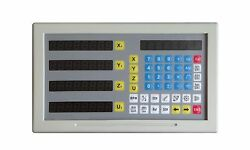 New 4 Axis Multi-functional Metal Digital Readout Dro Fast Shipping Dcdr