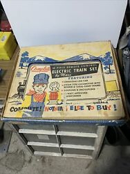 Louis Marx Boxed 15765 Train Set + Switches And Extra Track W/ Box
