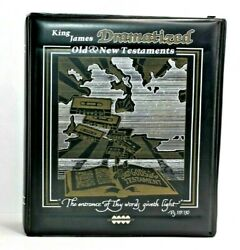 King James Dramatized Old And New Testaments On 48 Audio Cassette Tapes 1978