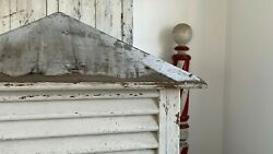 Fabulous Antique Aafa Architectural Salvage Wood Barn House Roof Cupola White