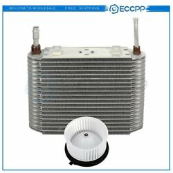 Hvac Blower Motor And Evaporator Core Kit For Chevrolet Silverado 2500 Replacement