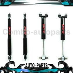 4x Focus Auto Parts Front Rear Shock Absorber For Mustang Ford 19641970