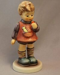 Hummel Goebel 450/0 - Will It Sting Girl With Flowers In Her Hand And Bee