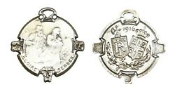 C354, France And Serbia, 1916 Silvered Bronze Ww1 Medal, Glory