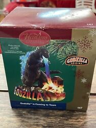 Carlton Cards Heirloom Ornament Godzilla Is Coming To Town Magic Sound 2005